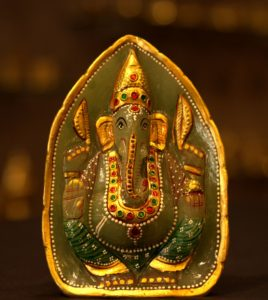 Green Quartz Ganeshji
