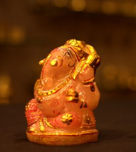 Rose Quartz Ganeshji