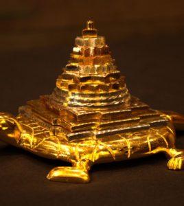 Metal Kachua Shri Yantra